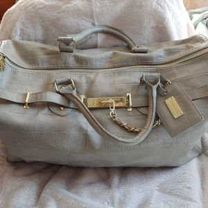 Steve Madden luggage rolling duffle